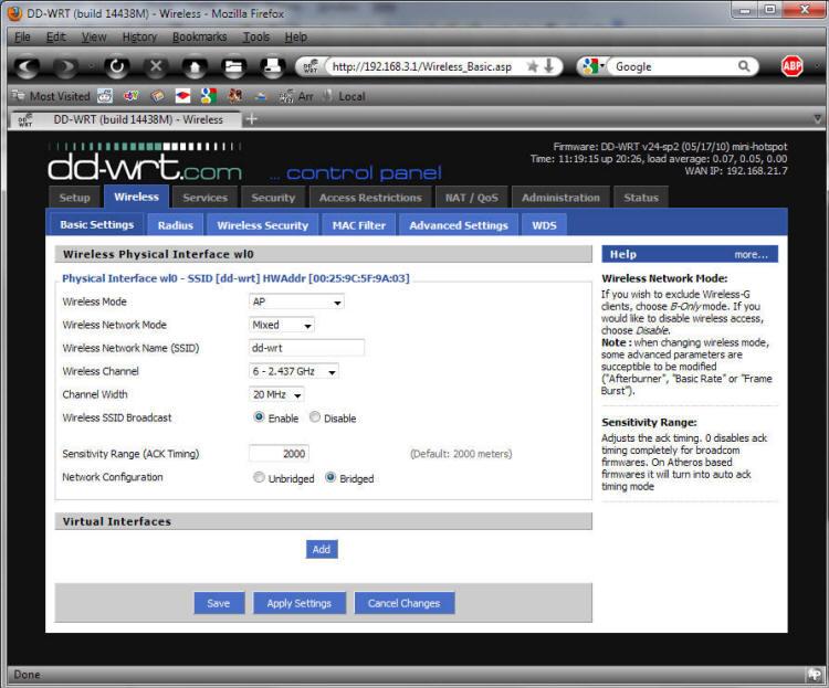 Dd-wrt assign static ip